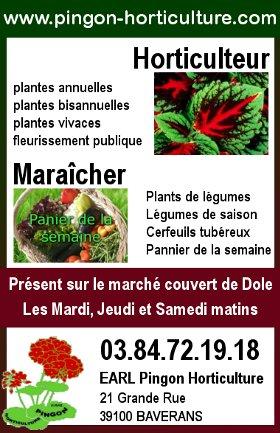 Pingon Horticulture : Horticulteur - Maraîcher à Baverans - Certfeuils tubéreux ...