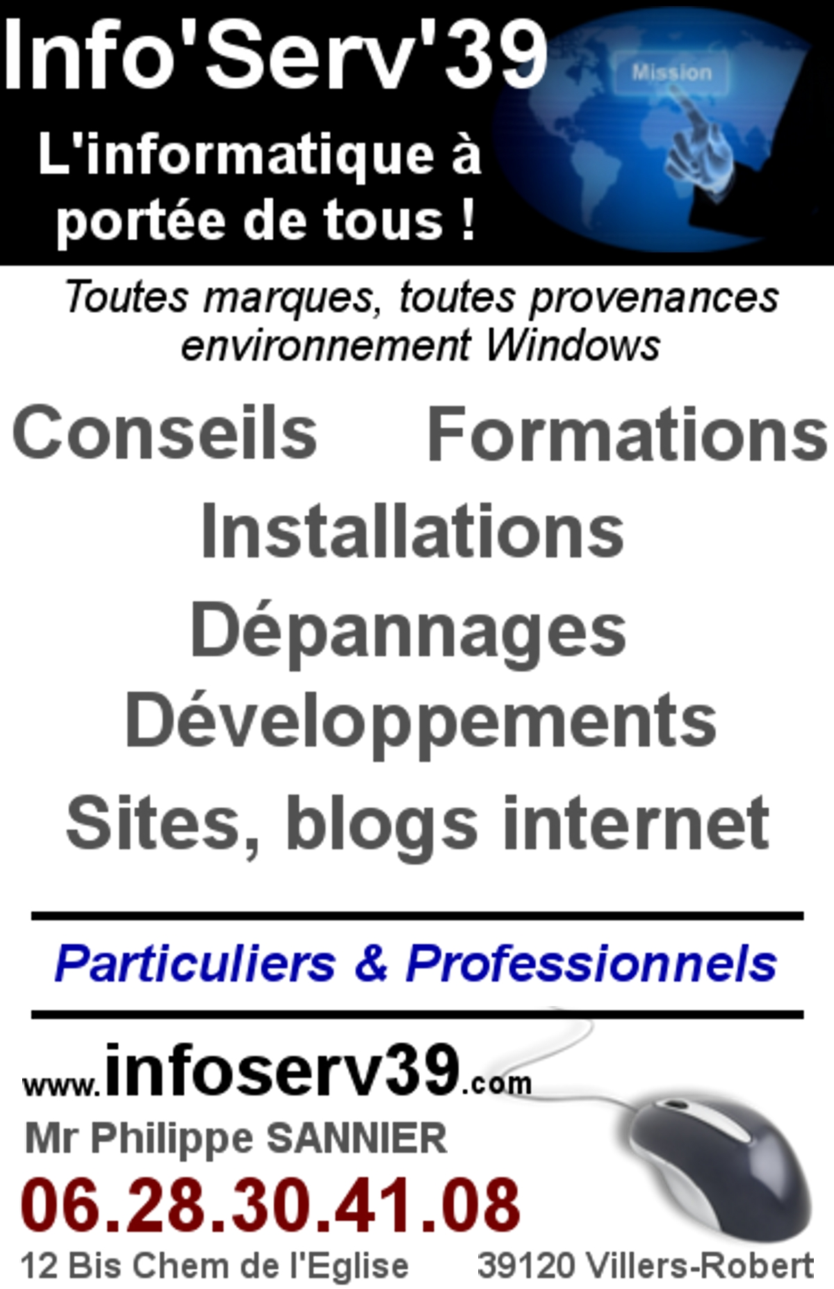Services informatiques - Mathenay